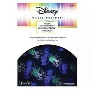 Disney Swirling LED Frozen Spotlight Projector